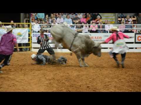 Ocala PRCA Bullfighting