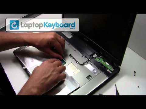 Acer Keyboard Installation Guide Travelmate 4000 - Remove Replacement Install Laptop 2300