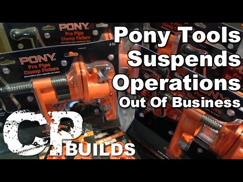 Pony Tools Suspends Operations : Out Of Business