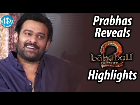 Thumbnail: Prabhas Reveals Baahubali: The Conclusion Highlights | Shivarathri Special Interview