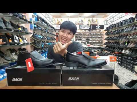 รีวิวคัทชูชาย ถูกระเบียบสุดใน3โลก Baoji รุ่น BJ3375 และ BJ3385  l ร้านรองเท้าโอโซน