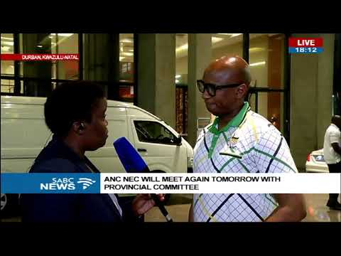 Latest update on meeting between ANC top 6 and KZN branch leaders