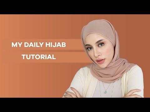 #MALMINGAN: MY DAILY HIJAB TUTORIAL - YouTube
