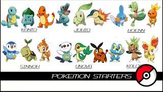 Repeat youtube video All Pokemon Starters (最初のポケモン)