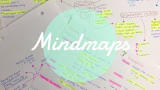 HOW TO MAKE THE PERFECT MINDMAP| Floral Sophia