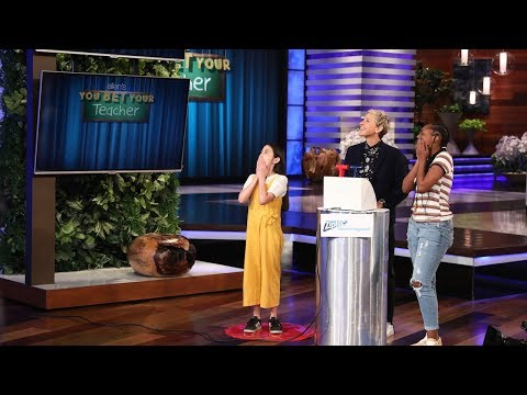 Ellen Puts the Students in Charge for 'You Bet Your Teacher'