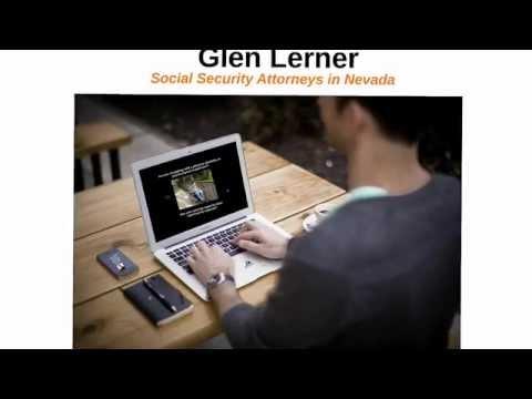 Social Security Attorneys in Nevada | Glen Lerner