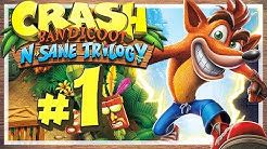 CRASH BANDICOOT N. SANE TRILOGY # 01 🍎 Crash Bandicoot in High Definition! [HD60]