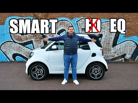 smart EQ fortwo 2020 Goes Electric-Only (ENG) - First Drive and Review
