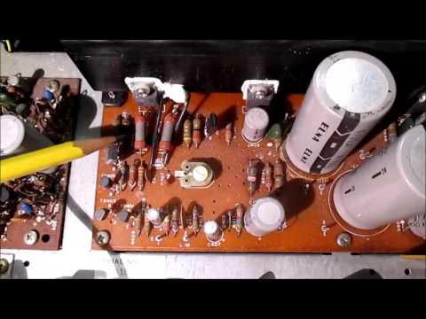 Broken Realistic STA-64 Stereo Receiver