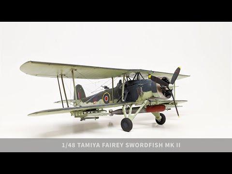 1/48 Tamiya Fairey Swordfish Mk II