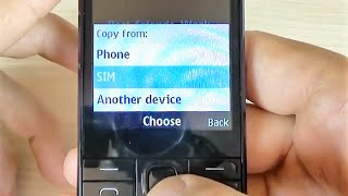 Nokia 230 - How to Import/Copy Contacts from SIM Card to Phone