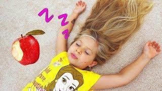 ダイアナと眠り姫の物語 Diana and her Sleeping Beauty story