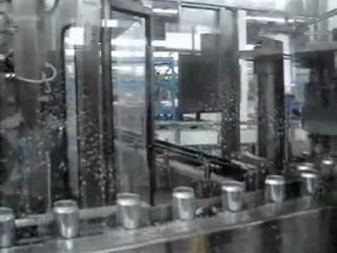 Sunswell - 9000CPH Aluminum Canning Line.wmv