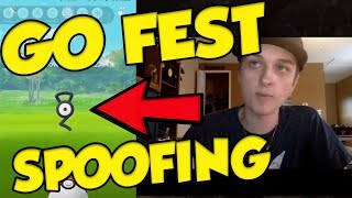 POKEMON GO FEST SPOOFING! It Can't Get Any Worse... thumbnail