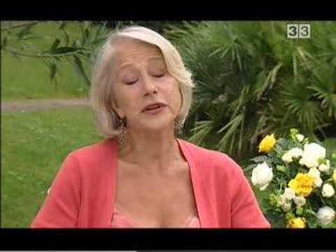 Helen Mirren - Interview on The Queen (CinemaTres)