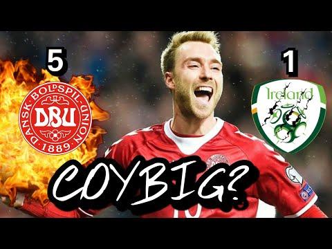 Eriksen Hat-trick Sinks Republic of Ireland | Ireland vs Denmark 1-5 Reaction