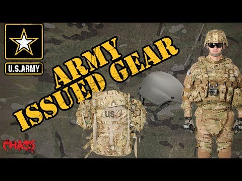 Army Issued Gear (TA - 50)