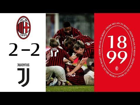 Highlights | AC Milan 2-2 Juventus Women | Matchday 6 Serie A Women
