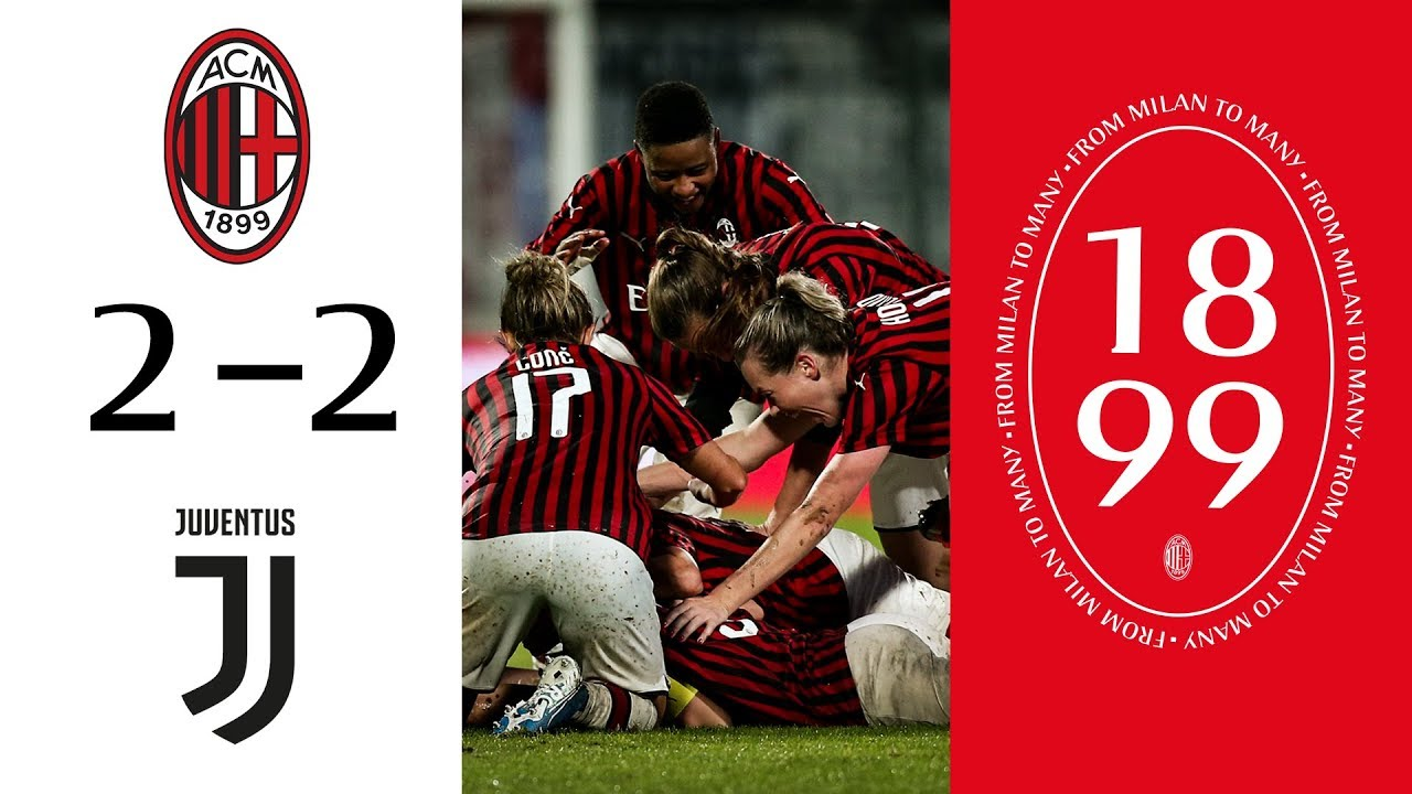 Highlights   AC Milan 2-2 Juventus Women   Matchday 6 Serie A Women
