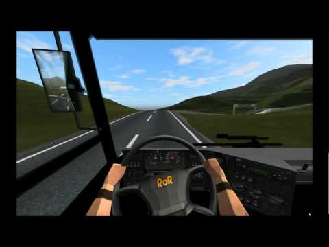 RoR Rigs Of Rods Mod - Renault Agora Amphibious Floating Bus Concept (720p HD)