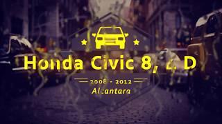 видео Чехлы honda civic vii