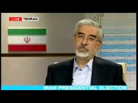 Iran Presidential debate - Mousavi - Ahmadinejad
