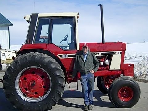 IHC 1086 Tractor with 1st Serial No