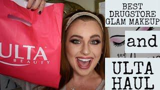 DRUGSTORE FALL GLAM | ULTA Beauty Haul + makeup first impressions