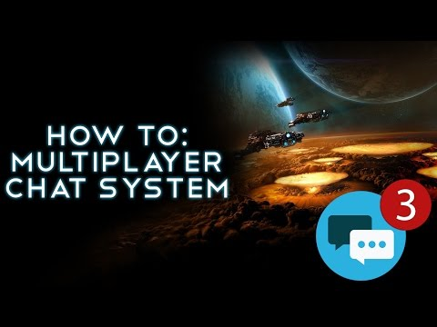 Unreal Engine 4: Multiplayer Chat - Ep3 Connecting Chat System to Chat Box HUD