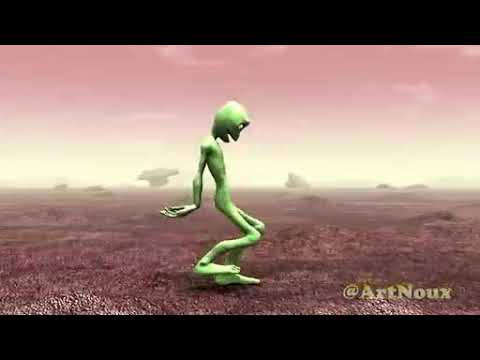 Alien vert qui danse 🤣