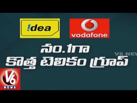 Vodafone-Idea Cellular Merge, Creates Biggest Telecom Firm In Country | V6 News