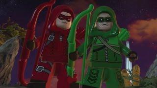 LEGO Batman 3 - Arrow DLC Pack (All Characters & Free Roam Gameplay)