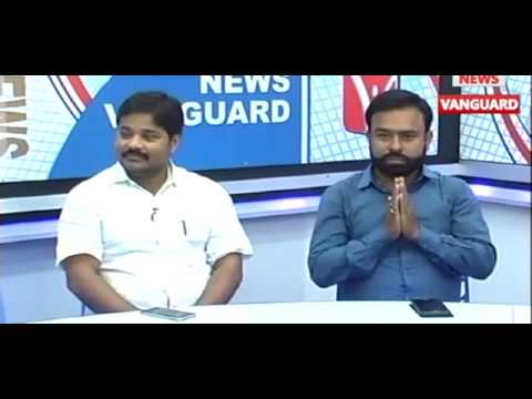 "13000 Post (Employment) Post: 10323 vs 8 Lakhs Takka Jukti Gappo ""News Vanguard"" Studio Te 19/5/2017"