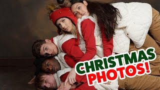CRAZY SMOSH CHRISTMAS PHOTOS (Squad Vlogs)