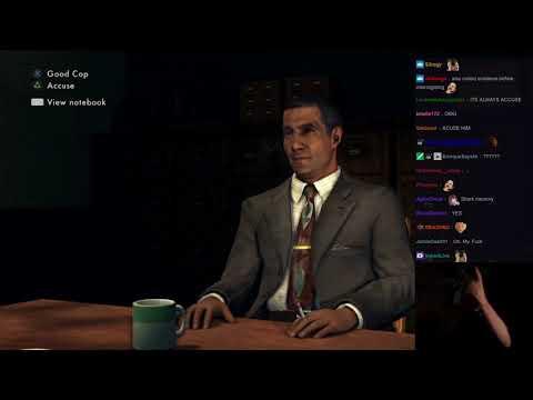 L.A. Noire PS4 | Aris vs. Edgar Kalou Deathmatch