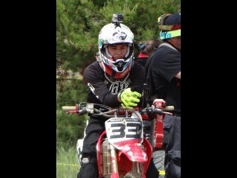 Staunton MX GoPro Motocross Track Indiana Supermini. CRF150R 5-10-15