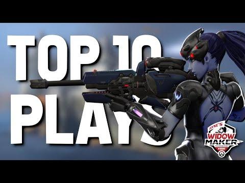 Top 10 PogChamp Plays from Jayne's $1000 Widowmaker Tournament