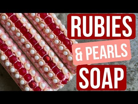 $100 Giveaway + Rubies and Pearls Soap | Royalty Soaps