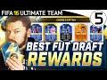 94 TOTS DI MARIA & 98 TOTY RONALDO!! - Best FUT Draft Rewards #05