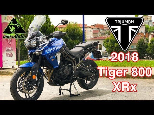 TRIUMPH Tiger 800 XRx 2018, İlk İzlenim, Motovlog