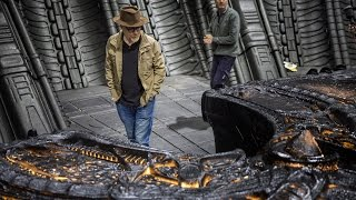 Adam Savage Behind the Scenes of Alien: Covenant!