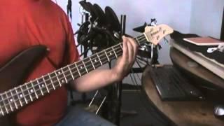 Corazón Espinado Bass Cover
