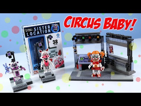 Thumbnail: FNaF SISTER LOCATION McFarlane Circus Control and Fun Time Freddy & Foxy