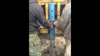 видео бурение скважин на воду в московской