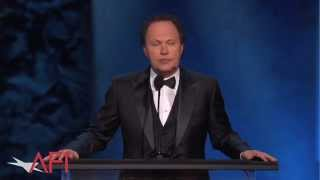 Billy Crystal salutes Mel Brooks at the 2014 Emmy-Winning AFI Life Achievement Award Show