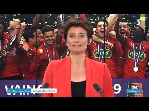 Stade Rennais bat le PSG en  Coupe de France