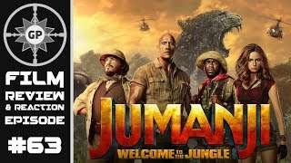 Jumanji Welcome To the Jungle (2017 Film) Review - Greyshot Productions Film Review/Reaction
