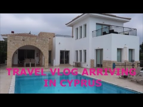 TRAVELLING & ARRIVING IN CYPRUS! HOLIDAY VLOG| VILLA TOUR| TRAVELLING WITH ANXIETY/PANICDISORDER