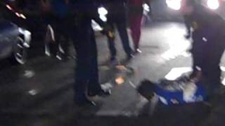 dude getting tazed outside of club ice in columbia sc new years eve 2010